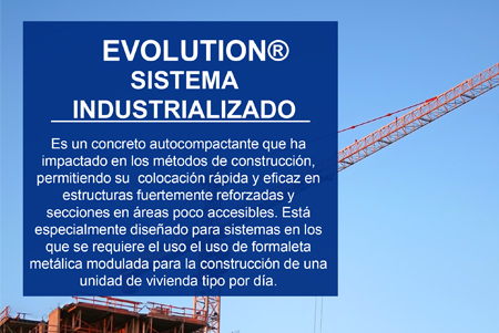 Evolution® Sistema Industrializado